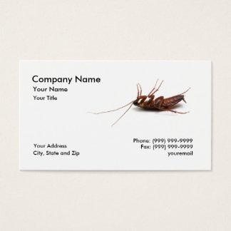 死んだゴキブリの名刺 名刺