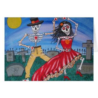 死んだサルサのダンサーの日 カード