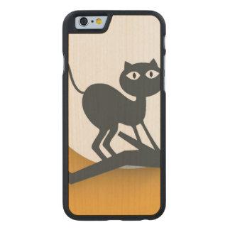 死んだツリーブランチの黒猫 ケース