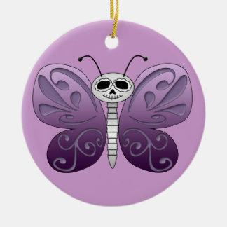 死んだデザインの蝶日 セラミックオーナメント