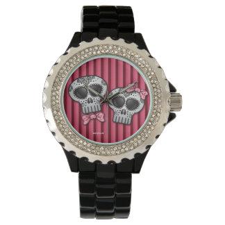 死んだバレンタインSkull Dia de los Muertosの日 腕時計