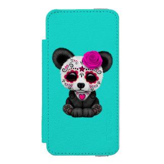 死んだパンダカブスのピンク日 INCIPIO WATSON™ iPhone 5 ウォレット ケース