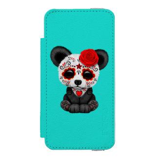 死んだパンダカブスの赤い日 INCIPIO WATSON™ iPhone 5 ウォレット ケース