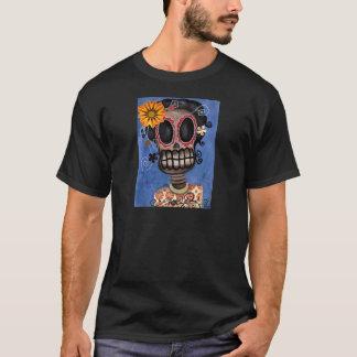 死んだメキシコワイシャツのMuertaの骨組日 Tシャツ