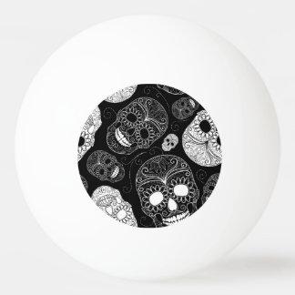 死んだモザイク芸術の黒及び白の日 卓球ボール