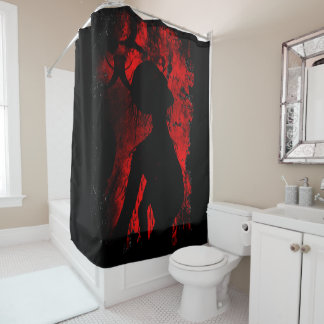 死んだ事のシャワー・カーテン シャワーカーテン