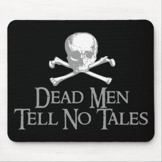 死んだ人は物語を言いません マウスパッド