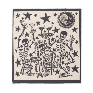 死んだ党Dia Muertosのフェスタの日 ノートパッド