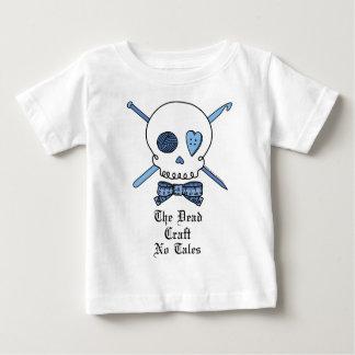 死んだ技術物語無し(青い) ベビーTシャツ