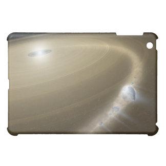 死んだ星のまわりで断片に引き裂かれる彗星 iPad MINIカバー