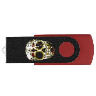 死んだ気味悪い砂糖のスカルの日 USBフラッシュドライブ
