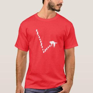 死んだ猫の跳ね上がりの株式市場のワイシャツ Tシャツ
