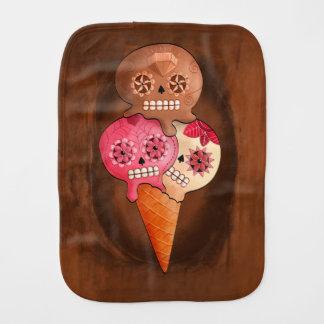 死んだ砂糖のスカルのアイスクリームの日 バープクロス