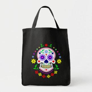 死んだ砂糖のスカルのメキシコ日 トートバッグ