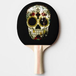 死んだ砂糖のスカルの日 卓球ラケット