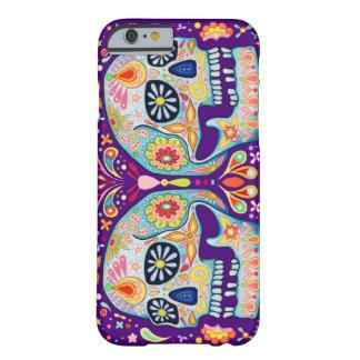 死んだ砂糖のスカルの芸術のiPhone6ケースの日 Barely There iPhone 6 ケース
