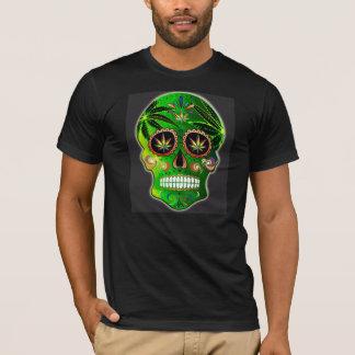 死んだ砂糖のスカルの雑草のワイシャツの日 Tシャツ