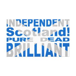 、死んだ純粋な、独立したスコットランド華麗 キャンバスプリント