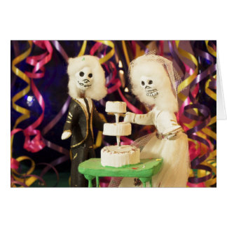 死んだ結婚式のBride_Groom日 カード
