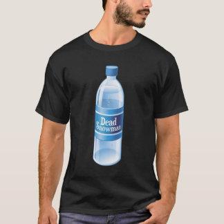 死んだ雪だるまはびん詰めにされた水を溶かしました Tシャツ