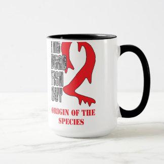 死んだ魚の人2のコーヒー・マグ マグカップ