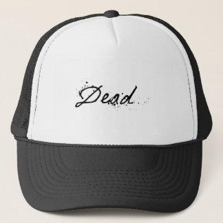 死んだ キャップ