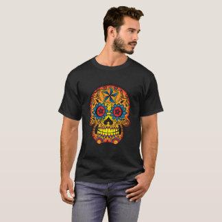 """死んだ"""" Tシャツの砂糖のスカル""""日 Tシャツ"""
