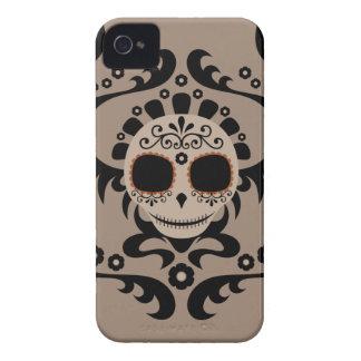 死んだdia losのmuertosのスカルのスカル日を砂糖で甘くして下さい Case-Mate iPhone 4 ケース