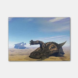 死んだEiniosaurusの恐竜 ポストイット