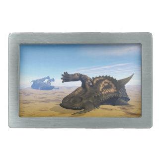 死んだEiniosaurusの恐竜 長方形ベルトバックル