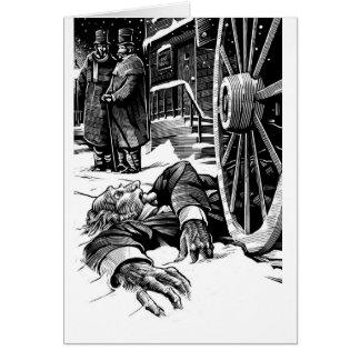 死んだScrooge グリーティングカード