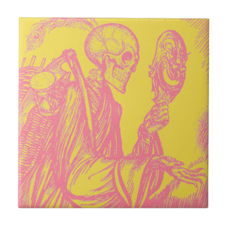 死んだtrivetのタイルのDia de Los Muertos Day タイル