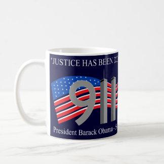 死んでいるオサマ・ビン・ラディン-正義は行われました コーヒーマグカップ