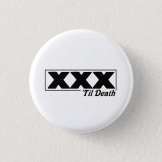 死ボタンまでXXX 「 3.2CM 丸型バッジ
