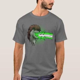 死レーザーのカワウソの緑(Tシャツ) Tシャツ