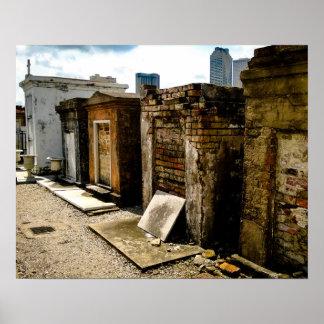 死亡率、セントルイスの墓地第1 ポスター