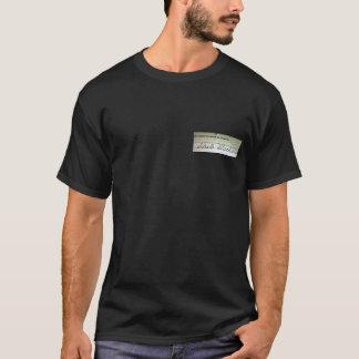 死因:  激しいアルコール中毒 Tシャツ