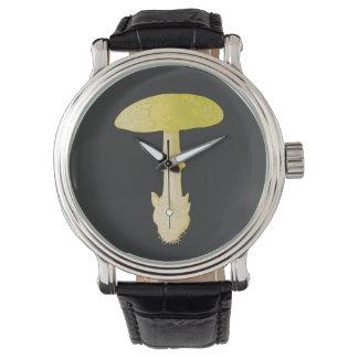 死帽子のきのこ 腕時計