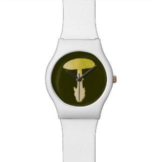 死帽子のテングタケ属のToadstool 腕時計