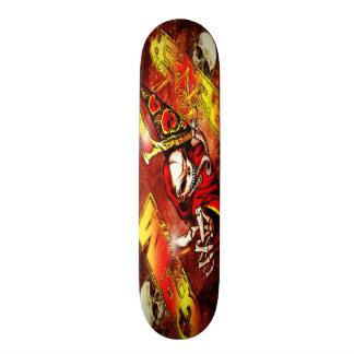 死神のスケートのデッキ 18.4CM ミニスケートボードデッキ