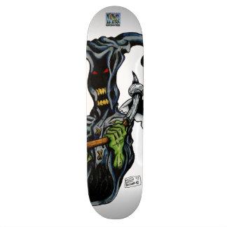 死神のスケートボード 19.7CM スケートボードデッキ