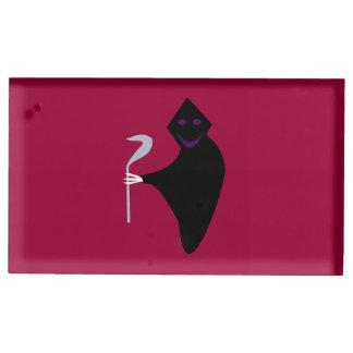 死神のハロウィンのテーブルカードホルダー テーブルカードホルダー