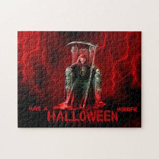 死神のハロウィンの挨拶 ジグソーパズル