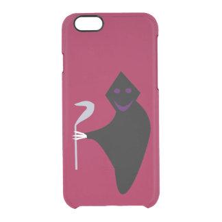 死神のハロウィンのiPhoneの場合 クリアiPhone 6/6Sケース