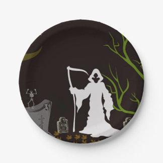 死神の墓地の紙皿 ペーパープレート