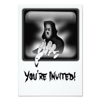 死神の死のカスタムな招待状カード カード