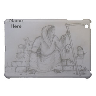 死神の死の鉛筆のスケッチ iPad MINI CASE