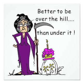 死神の誕生日のユーモア カード