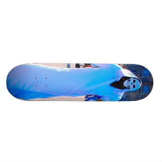 死神板 18.1CM オールドスクールスケートボードデッキ
