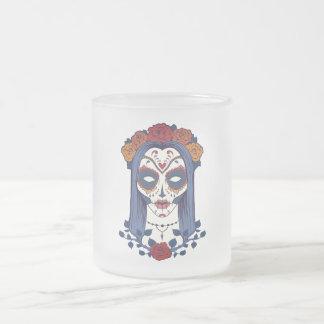 死者の女性日 フロストグラスマグカップ